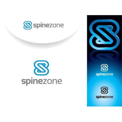 "Creatively Capture ""SpineZone"" as a Logo"