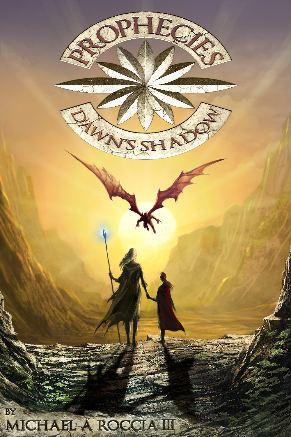 PROPHECIES: DAWN'S SHADOW book cover project