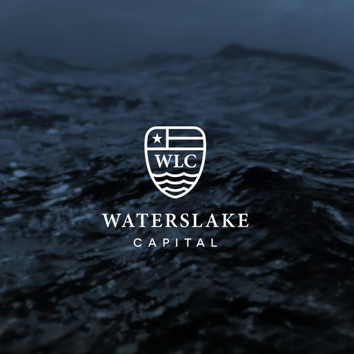 Waterslake Capital Logo Design