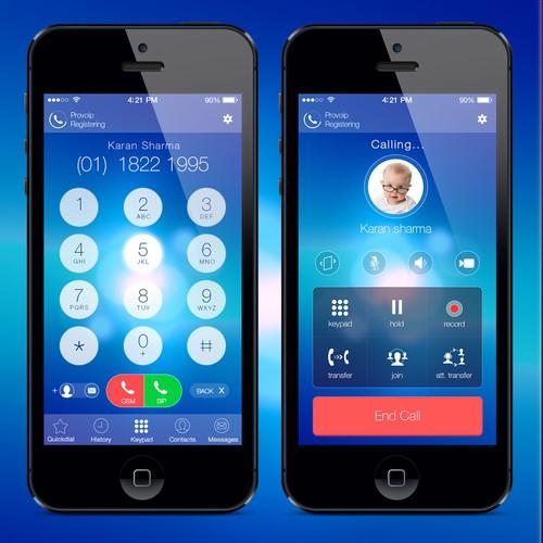 Design the app, then the logo, icon & website!