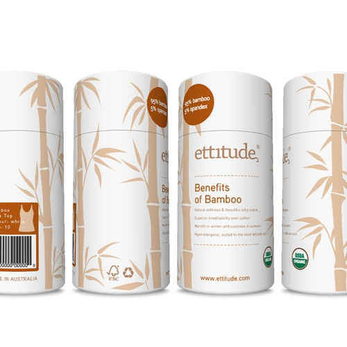 ettitude - design packaging for our latest product line