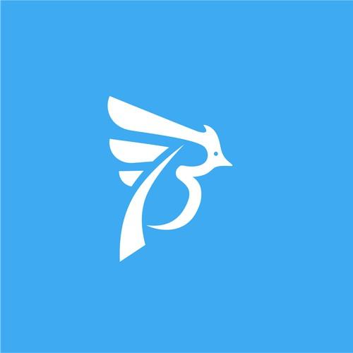 B+Bird, Logo Concept for Birdieblue