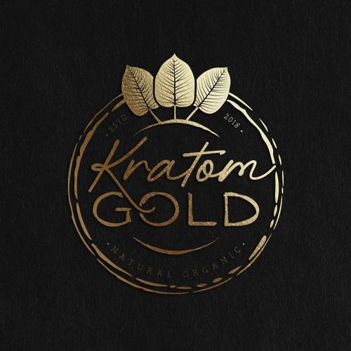 Logo design for natural organic leaf product