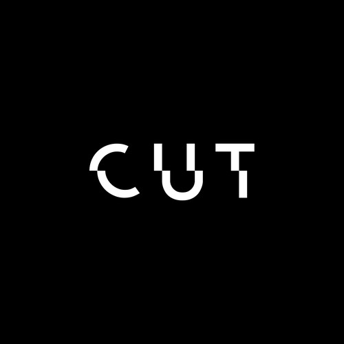 bold and minimal logo design for CUT