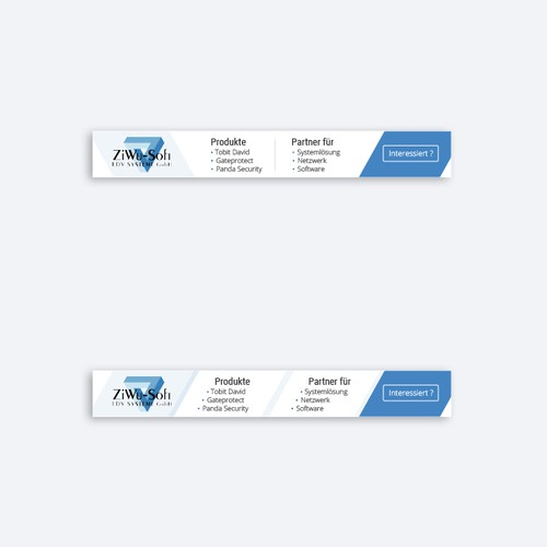 Banner for IT provider