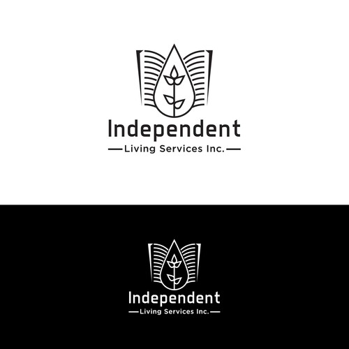 logo concept for Independent Living Services Inc
