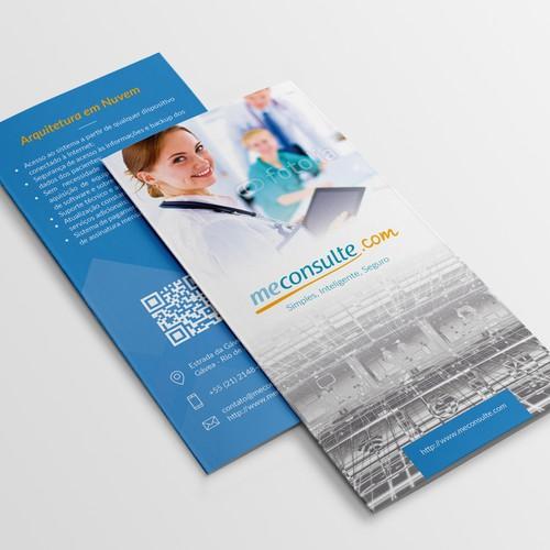 Tri-fold brochure for meconsulte.com
