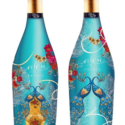 Special Sparkilng Wine Bottle