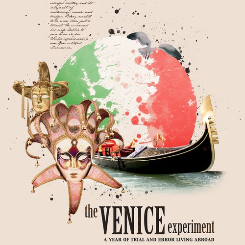 New Book Cover design needed for book on Venice Italy
