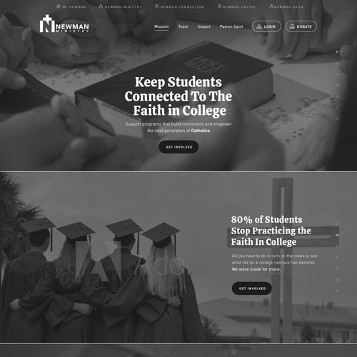 Non-Profit Ministry website