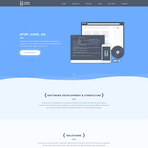 Redesign for Coding Avenue