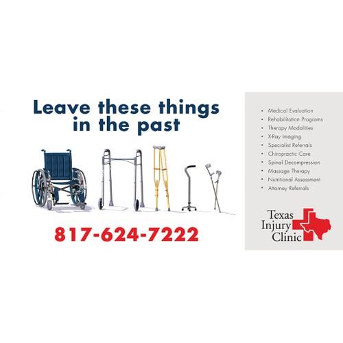 Injury Clinic Billboard
