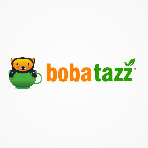 logo for boba tazz