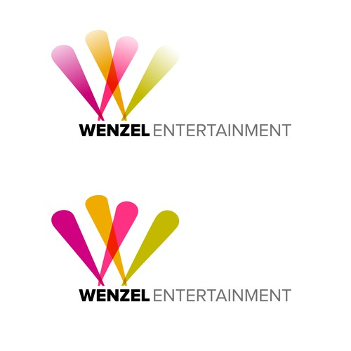 Logo concept for entertainment industry