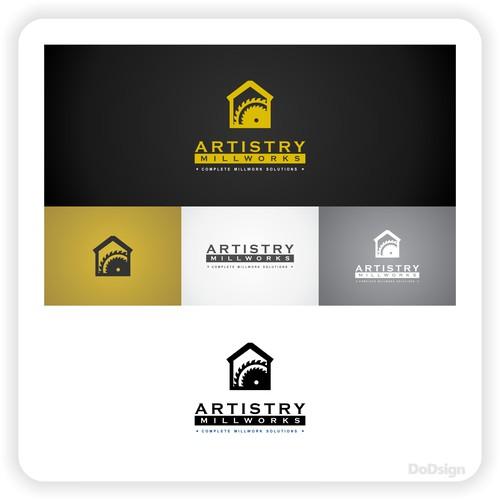 concept logo for Artistry Millworks