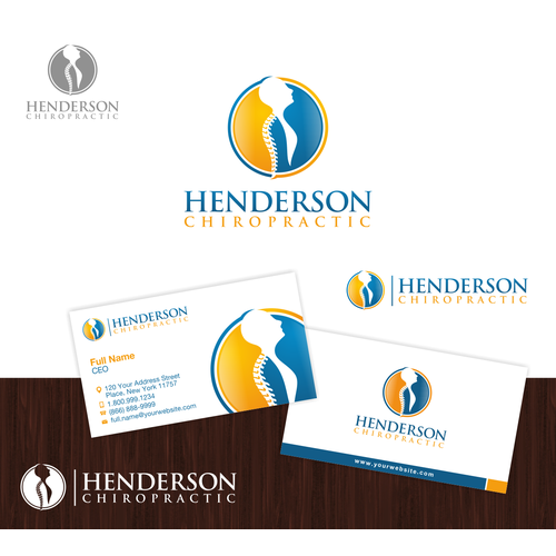Create a capturing logo design for a new Chiropractic Clinic
