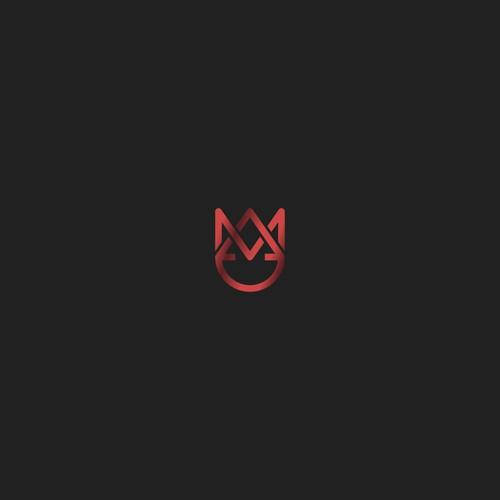 DAMEnt logo design