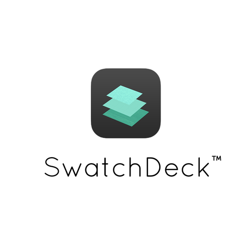 Modern logo/icon design for SwatchDeck