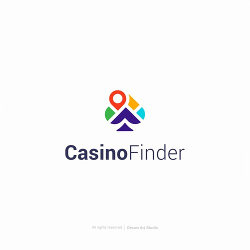 "Design a logo for ""Casino Finder"""