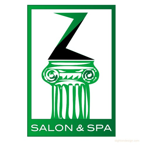 Z Salon & Spa Logo Design