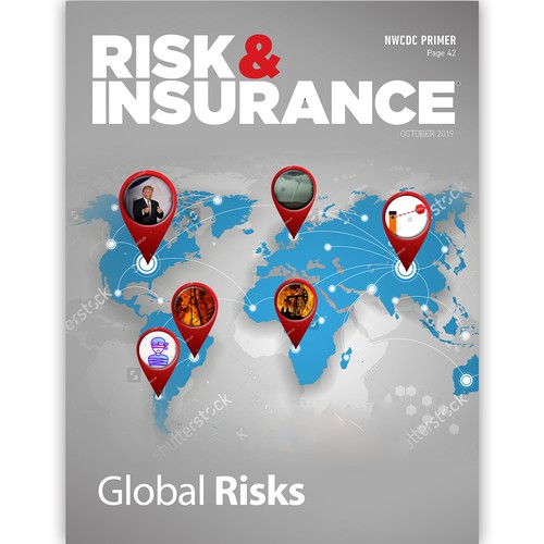 "Magazine Cover ""Risk & Insurance"""
