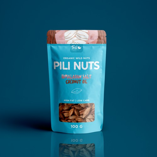 Package design for a nut company