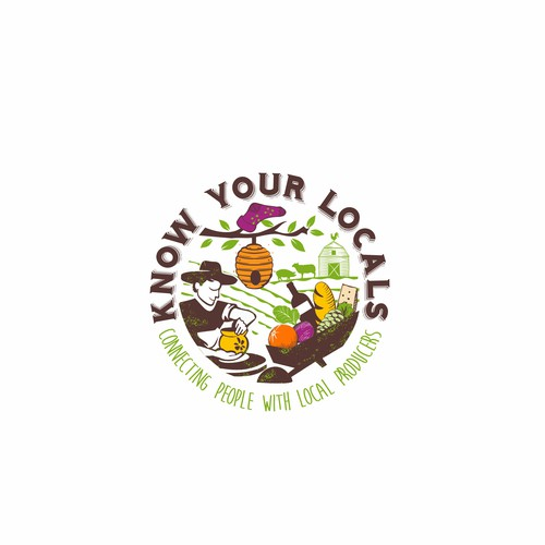 Logo design for Know your locals