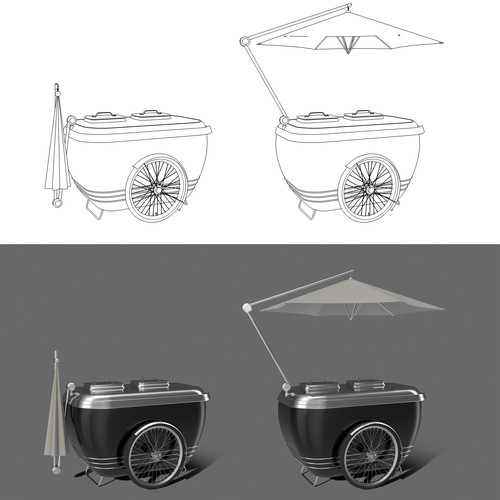 Design of a icecream cart