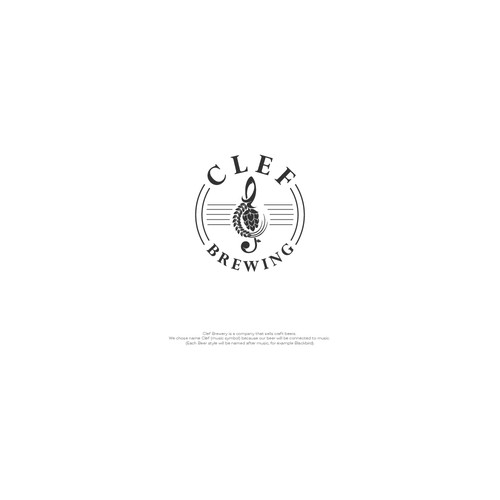 In contest Design logo for: Clef Brewery