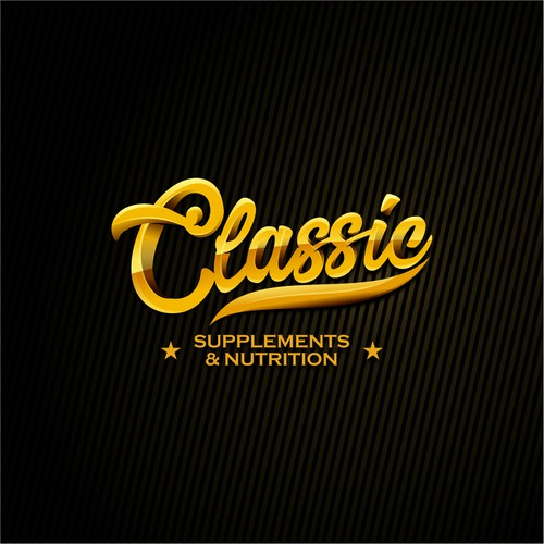 Classic logo concept for Classic Supplements & Nutrition