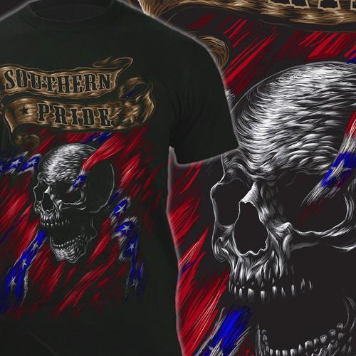 Country Boy Skull