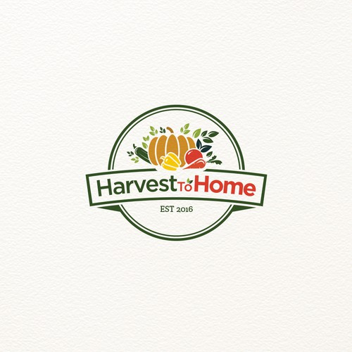 Logo concept for HarvestToHome