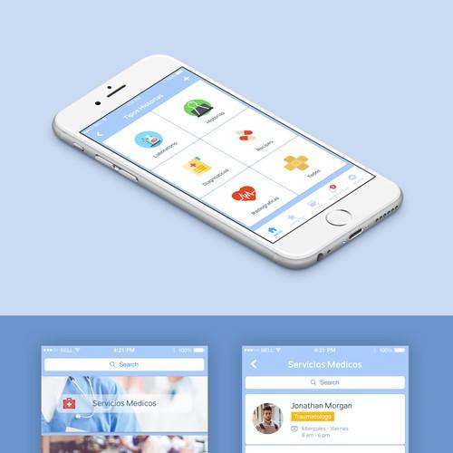 Poraqui App Design