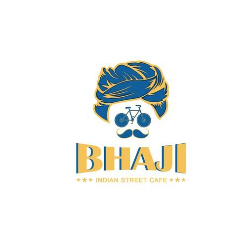 "Logo design for ""Bhaji """