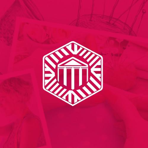 Logo Stoff Tempel