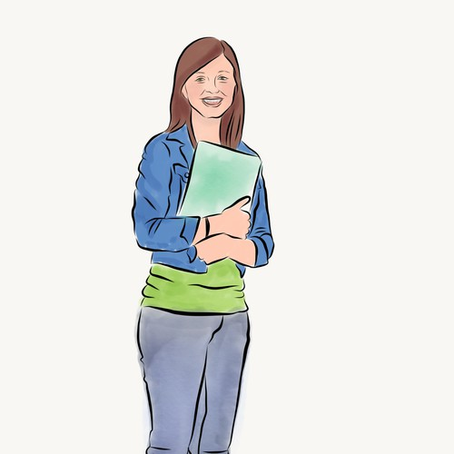 Teenager illustration 1