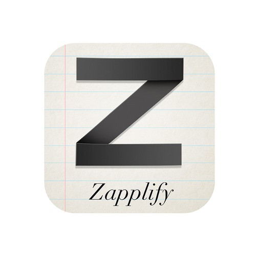 Zapplify app logo design