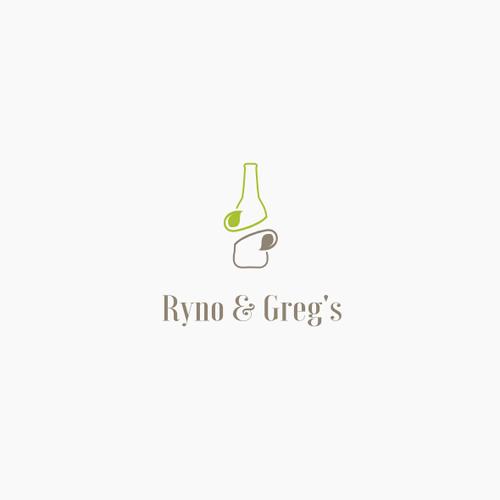 Artisanal logo for healthy drinks