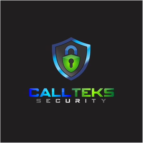 A KICK ASS Unique , Eye Catching, Modern logo brand for CallTeks Security