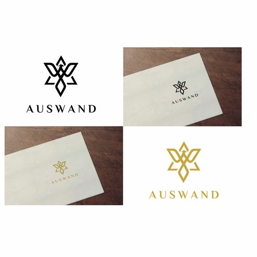 simple logo design for Auswand