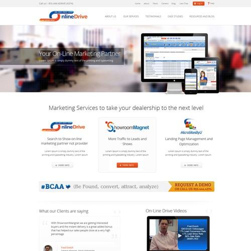 OnLine Drive / www.theonlinedrive.com needs a new website or app design