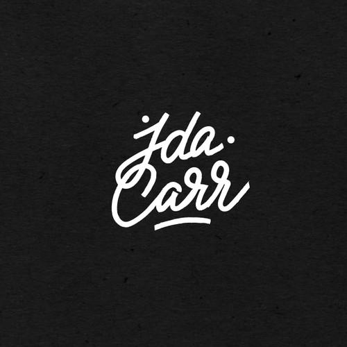 Logo design for Ida Carr
