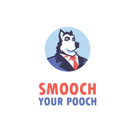 """Smootch Your Pooch"" logo"