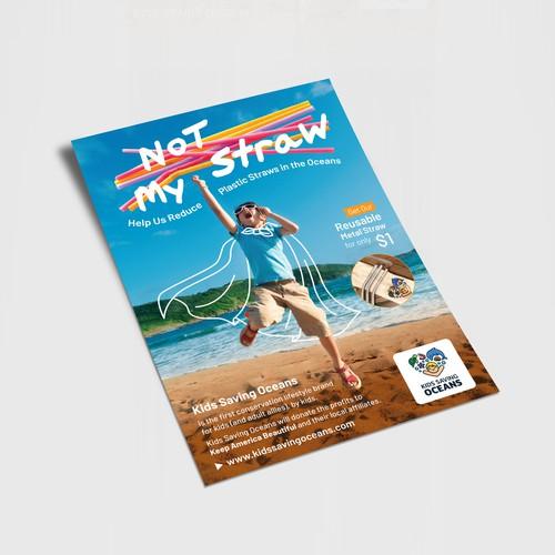 Flyer for Kids Saving Oceans