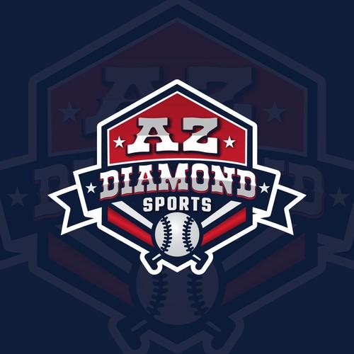 AZ DIAMOND SPORTS LOGO