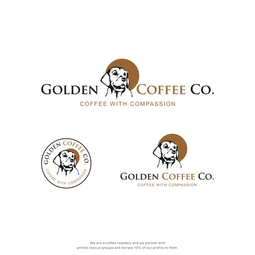 Logo for Golden Coffee Co.
