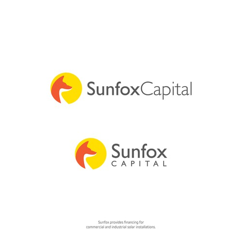 Simple & Bold Logo for Commercial Solar Installations' Finance Company