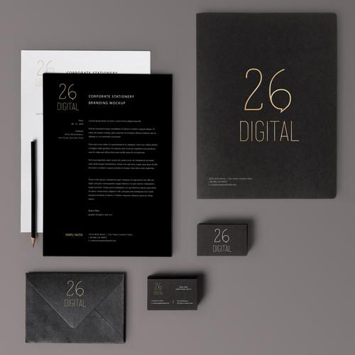 Brand update for a Socal Media Digital Agency
