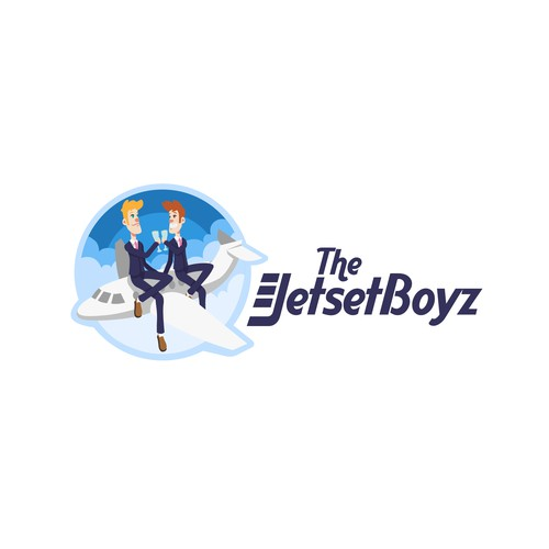 Logo design concept for The Jetset Boyz