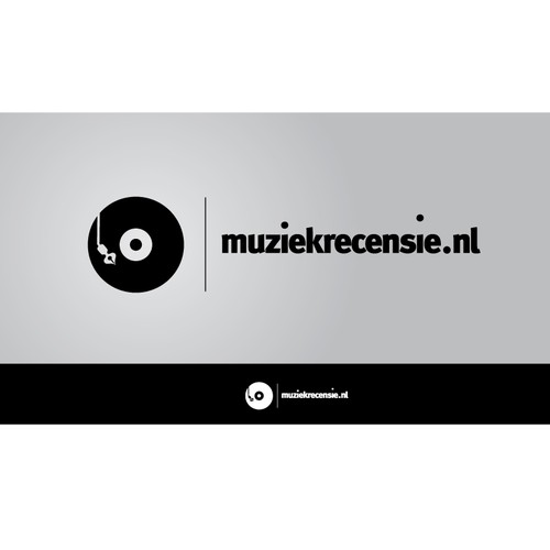 Logo for musicreview website